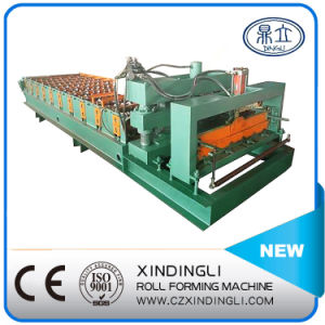 Automatically Color Steel Roof Tile Roll Forming Machine pictures & photos
