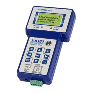 Nmea0183 Sentence Tester (reader & sender) for Testing Transmit-Received Nmea0183 Signals
