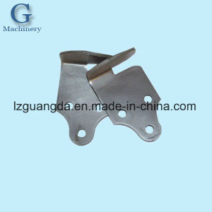 Customized Fabrication Sheet Metal Parts, Black Passivation Steel Carbon Steel Bended Brackets Gym Equipment Spare pictures & photos