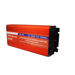 600W Sine Wave Inverter with Switch pictures & photos