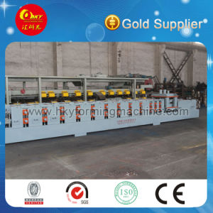Metal C Z U Shape Purlin Roll Forming Machine with Pre Cutting Device pictures & photos