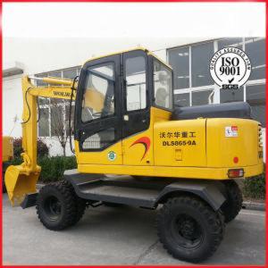 China Hot Sale Hydraulic Wheeled Excavators for Machinery