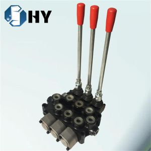 3 spool Directional control valve Hydraulic valve pictures & photos