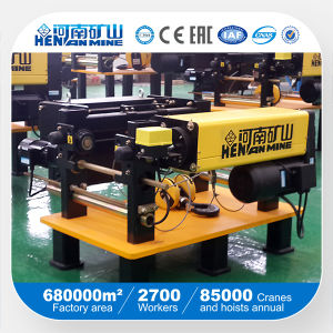 European Style Wire Rope Electric Hoist Made in China pictures & photos