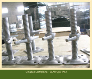 Adjustable Screw Solid/Hollow U-Head Galvanised Jack Base /Jack Scaffold pictures & photos