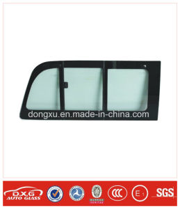 Auto Glass Sliding Window Glass for Toyota Hiace Rh200 pictures & photos