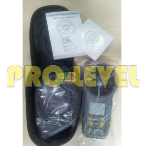 Temperature and Humidity Digital Anemometer (MS6252A) pictures & photos