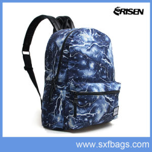 School Bag with Double Shoulder Strap pictures & photos