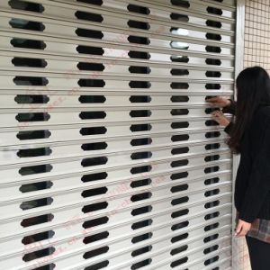 Silenced Aluminum Roller Shutter Door (BH-SD16) pictures & photos