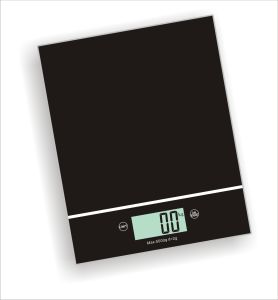 LCD Electronic Kitchen Scale with Oilpainting (XF8202) pictures & photos