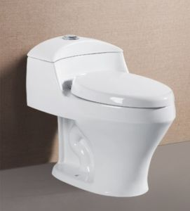 Factory Siphonic One Piece Wc Toilet Bowl S-Trap Ceramic Toilet
