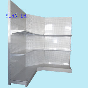 Supermarket Single Side Display Corner Shelf (YD-X12) pictures & photos