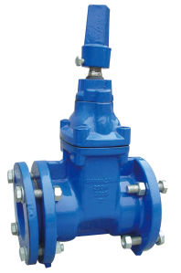 Mechanical Jont Resilient Gate Valve, Non Rising Stem Awwa C515 pictures & photos