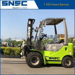 China Snsc 1.8ton Diesel Forklift with Rotator Clamp pictures & photos