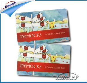 ISO Good Quality Plastic Blank Adhesive PVC Card pictures & photos