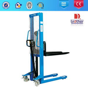 2014 Brother Cty Series 1 Ton Hydraulic Forklift Hand Pallet Stacker pictures & photos