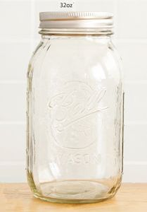 32oz 1000ml Mason Jar in Kitchen of Glass Bottle pictures & photos