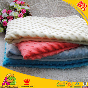 Super Soft Baby Blanket Small MOQ Mixed Colors Minky Blanket