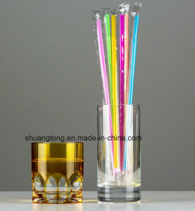 Wedding Decoration Pipe Clear Oppfilm Wrapped Drinking Straw pictures & photos