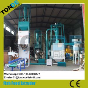 Ce Wet Floating Fish Food Pellet Production Extruder Line pictures & photos