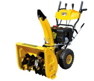 Popular 6.5HP Loncin Gasoline Snow Blower with CE (STG6562) pictures & photos