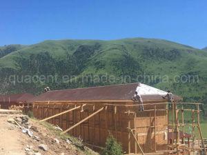 Tibetan Style Prefab Log Wood House-Two Floor
