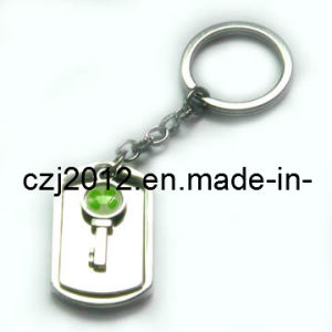Cheap Metal Keyrings/ Metal Keychains/ Custom Metal Key Chains pictures & photos