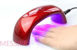Professional Nail Art Rainbow Style Mini Gel Cure LED Lamp 9W pictures & photos