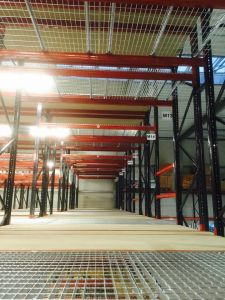 Multi-Tiers Storage Mezzanine Warehouse Pallet Racking System pictures & photos