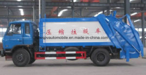 4X2 6 Wheels 10 to 12 Cubic Meters Compactor Garbage Truck Rubbish Collect for Sale pictures & photos