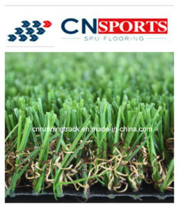 Classic and Green and Natural Color Synthetic Grass of Soft Touch Performance pictures & photos