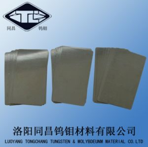 Gounrd and Polished Tungsten Sheet 99.95% pictures & photos