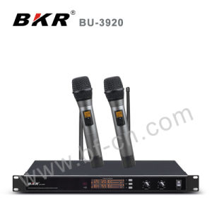 Bu-3920 Black Wireless Microphone System pictures & photos