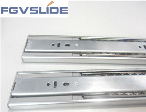 3-Flods Ball Bearing Side Install Buffer Slide Rail pictures & photos