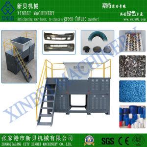 Four Shaft Shredder for Plastic/Rubber/Wood