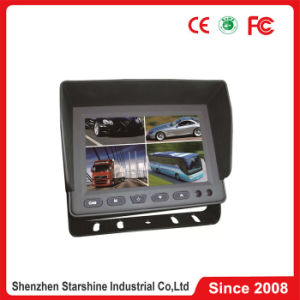 5 Inch TFT LCD Monitor with Sunshade and Quad Split Screen