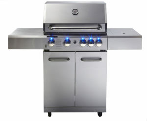 Barbecue Grill with Blue LED