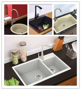 Quartz Granite Sink Hgy005 pictures & photos