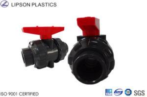 Plastic UPVC Double Union Ball Valves pictures & photos