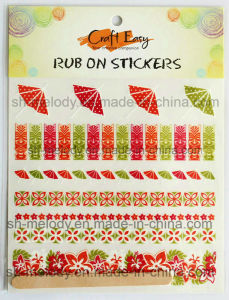 Unique Rub on Transfer Sticker/ Rub Ons/Rub on Sticker pictures & photos