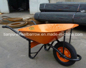 Wb6400 Building Construction Tools and Equipment Heavy Duty Wheelbarrow for Sale pictures & photos
