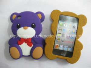 Cute Shape Silicone Mobile Phone Case for iPhone5 (SY-ST-135)