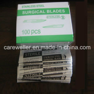 Disposable Sterile Surgical Blade (Carbon Steel & Stainless Steel) pictures & photos