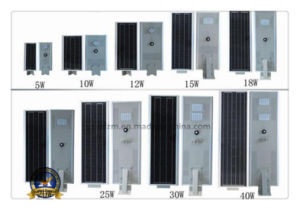 5W-40W All in One Integrated Solar LED Street Light pictures & photos