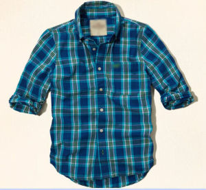 Men′s Cotton Yarn Dyed Plaid Casual Shirt (SM14005) pictures & photos