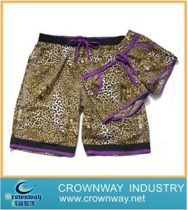 Swimwear Beach Pattern Board Shorts for Lover (CW-LB-S-1) pictures & photos