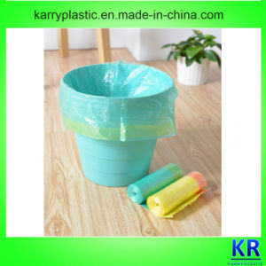 HDPE Drawtape Garbage Bags New Material pictures & photos
