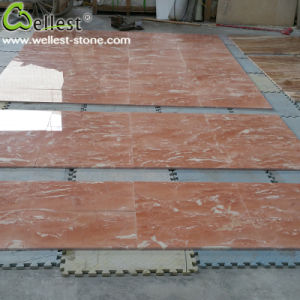 China Pink Red Marble for Interior Flooring/Wall Cladding/Border pictures & photos