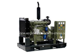 Chinese Weichai 10-50kw Series Land Standard Genset Diesel Generator pictures & photos