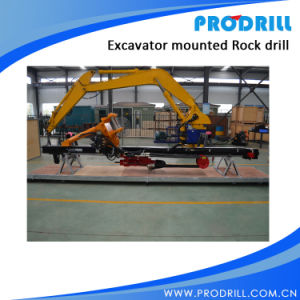 Pd90 Hydraulic Excavator Mounted Rock Drilling Rig for Borehole Drilling pictures & photos
